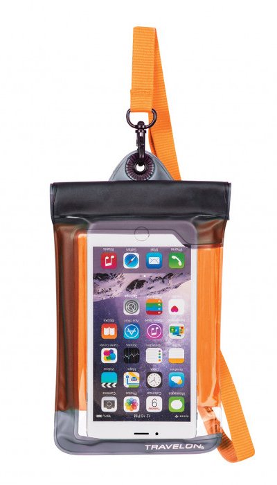 Travelon Schutzhülle 'Waterproof' - orange